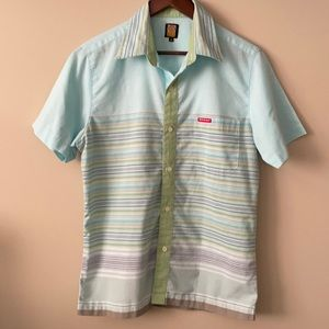 Men's Dickie's button up shirt sleeve